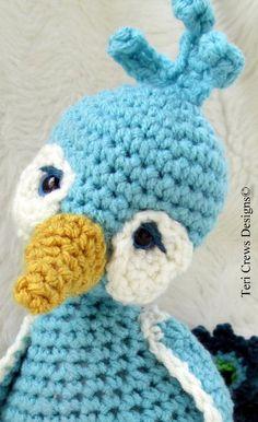 New Simply Cute Peacock Crochet Pattern
