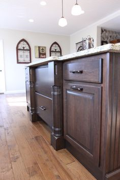 Country Cottage Kitchen Remodel With Hickory Hardwareu0027s Craftsman Knobs U0026  Pulls In Oil Rubbed Bronze