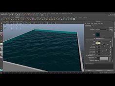 CGI 3D Tutorial HD: Maya Tutorial using the Ocean Shader https://www.youtube.com/watch?v=I6Scsd4mCDc