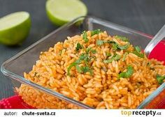 Rychlá mexická rýže recept - TopRecepty.cz