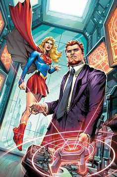 Convergence: Supergirl: Matrix STARRING HEROES FROM ZERO HOUR! What do Supergirl, Lady Quark, and Ambush Bug have in common? But that doesn't stop them from appearing in this story together. Rip Hunter, Green Lantern Corps, Dc Comics, Aquaman, Gotham, Comic Book Covers, Comic Books, Comic Art, Flashpoint
