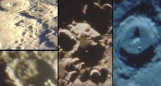 Head of weird creature and ancient structures on the Moon captured by amateur astronomer |UFO Sightings Hotspot