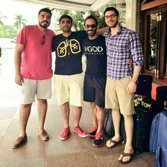 #AtomVapes are now the exclusive master distributors of #VGOD throughout Asia. Left to right Wally (VGOD co-founder), Qasim Shah (AtomVapes co-founder), Shaggy (VGOD co-founder), Ihab (Ihab Engineering Wizard and friend of Atom & VGOD. Pic outside the Chueng Feng Hotel, Shenzhen, China (30mins away from AtomVapes HQ in Shenzhen China).