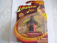 "Very nice 3"" action figure from Indiana Jones saga."