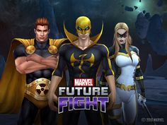 The action-packed game recently unveiled an update adding the super-being Hyperion, plus new variant uniforms for Black Widow, Iron Fist, Mockingbird and mor. Marvel Games, Marvel Future Fight, Marvel Characters, Fictional Characters, Best Mobile, Art Pictures, Art Pics, Best Games, Marvel Universe