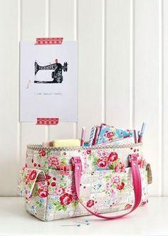 FREE Oslo Craft Bag pattern   Sew Sweetness   Bloglovin'