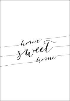Home Sweet Home - Verdens mest kjente plakat uttrykk? Sweet Home, Math, Products, House Beautiful, Math Resources, Gadget, Mathematics