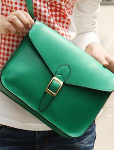 emerald green!! love the vintage!! <3