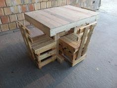 Pallet Dining Table - Multi-Purpose Table | 99 Pallets