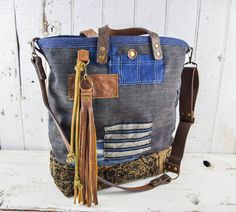 JAPANESE BORO PATCHWORK Tote Bag Purse by 1770mercantile on Etsy
