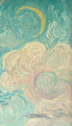 Detail from Cypresses, Vincent van Gogh 1889 - Art Painting Arte Van Gogh, Van Gogh Art, Art Van, Vincent Van Gogh, Aesthetic Painting, Aesthetic Art, Van Gogh Sunflowers, Psy Art, Electronic Art
