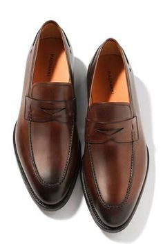 a2eecc20f5669b Magnanni faded penny loafers Penny Loafers