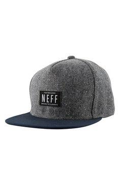 Neff 'Liph' Tweed Snapback Cap