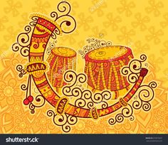 Find Vector Design Art Music India Indian stock images in HD and millions of other royalty-free stock photos, illustrations and vectors in the Shutterstock collection. Design Vector, Vector Art, Design Art, Madhubani Art, Madhubani Painting, Music Doodle, Doodle Art, Arte Tribal, Tribal Art
