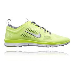 the latest b93d8 e4752 NIKE W FREE TR FIT 4 VOLT YELLOW GREY Nike Free, Sneakers Nike