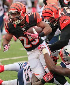 Cincinnati Bengals running back Giovani Bernard