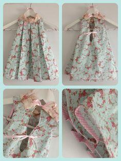Robe alula Liberty - shabby chic dress - miiflore couture