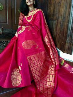 Buy Designer Indian Saree, Bollywood Collection of Anarkali Salwar Suits, Designer Gowns Silk Sarees With Price, Soft Silk Sarees, Drape Sarees, Indian Dresses, Indian Outfits, Indian Attire, Indian Clothes, Indian Wear, Silk Saree Kanchipuram