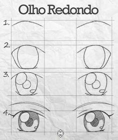 Ideas Eye Drawn Tutorial for 2019 Ideas Eye Drawn Tutorial for 2019 . - Ideas Eye Drawn Tutorial for 2019 Ideas Eye Drawn Tutorial for 2019 You are at the ri - Cool Art Drawings, Pencil Art Drawings, Art Drawings Sketches, Kawaii Drawings, Easy Drawings, Pencil Sketching, Drawing Eyes, Manga Drawing, Chibi Drawing