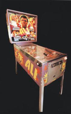 muhammad ali pinball machine