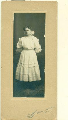 Lil Berryman Antique Photo Circa 1900 Grand Junction Mesa County Colorado | eBay