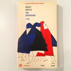 «Camus paperback, illustration by George Giusti, 1964 #lubalinthirty #seeitinperson»
