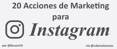 20 Acciones de Marketing para Instagram: tareas y Apps