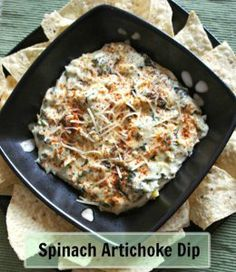 Guests will love this classic! http://www.allfreeslowcookerrecipes.com/Slow-Cooker-Appetizer-Recipes/ArtichokeSpinachDip