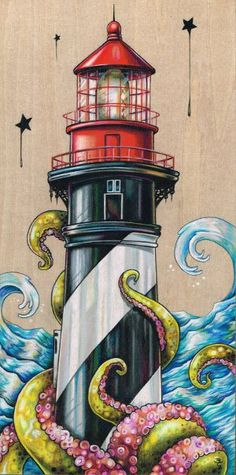 """A Tangled Attraction ~ 6""""x12"""" colored pencil on wood by Bryan Collins…"""