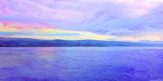 Am Zürichsee (violet) cm Mountains, Nature, Travel, Naturaleza, Viajes, Trips, Nature Illustration, Outdoors, Traveling