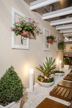 Backyard Garden Design, Backyard Patio, Backyard Landscaping, House Plants Decor, Plant Decor, Home Entrance Decor, Interior Garden, Garden Projects, Landscape Design