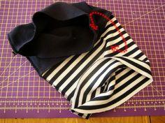 RADY A NÁVODY | NÁKRČNÍK TUNEL | český výrobce kojeneckého a dětského oblečení