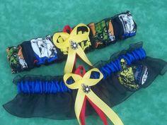 NEW Handmade wedding garters keepsake and toss STAR WARS wedding garter set on black on Etsy, $28.00
