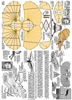 Otto Lilienthal Hang Glider Mais