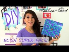 YouTube Craft Tutorials, Video Tutorials, Do It Yourself Jewelry, Diy Fashion, Fashion Ideas, Candy Wrappers, Duck Tape, Fashion Project, Origami