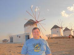 Fotografía: Paulo Portugal Mykonos, Ferris Wheel, Portugal, Fair Grounds, Travel, Illusions, Seasons, Viajes, Trips