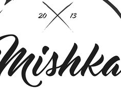 "Check out new work on my @Behance portfolio: ""Mishka logo design."" http://be.net/gallery/44165043/Mishka-logo-design"