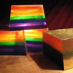 Rainbow  Glycerine Soap