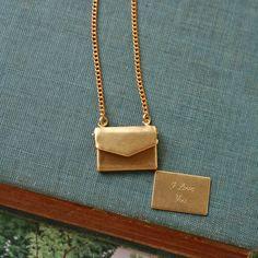 Love Note Necklace / by Regina Pruss