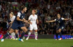 U.S. Women's Soccer Defeats Canada In Semis