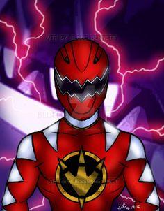 Dino Thunder Red Ranger by blueliberty on DeviantArt