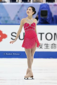 Zijun Li skating to Waltz of the Flowers (from The Nutcracker) for her short program at the 2014 NHK Trophy and 2014 Cup of China.