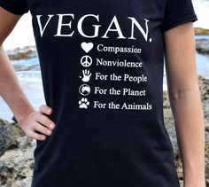 Reasons To Go Vegan: For The Animals, Planet, People - Elavegan : Why vegan? Here are the top reasons to go vegan and to stay vegan. Veganism helps the animals, our own health, the environment and could stop world hunger Why Vegan, Vegan Vegetarian, Animal Eating, Reasons To Go Vegan, World Hunger, Vegan Society, Vegan News, Worlds Of Fun, Going Vegan