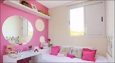 Sua Casa , Seu Espelho: Decoração cor de rosa