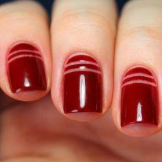 """Negative space: a nail art de Giovanna Antonelli em """"A Regra do Jogo"""""""