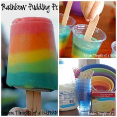 The WHOot Rainbow Recipes on Pinterest | Rainbow Cakes, Rainbow ...