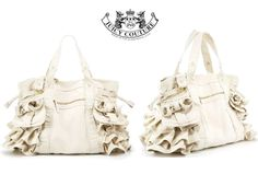 Juicy Couture Canvas Royal Ruffle Tote