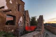 Italian Ancient town Crumbling...