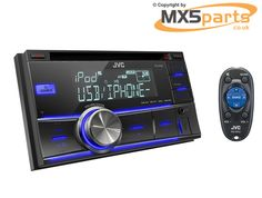 JVC Double Din Sized CD MP3 USB iPod iPhone Reciever