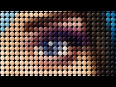 Photoshop Tutorial: How to Transform a Photo into a Dot, Mosaic Portrait - YouTube